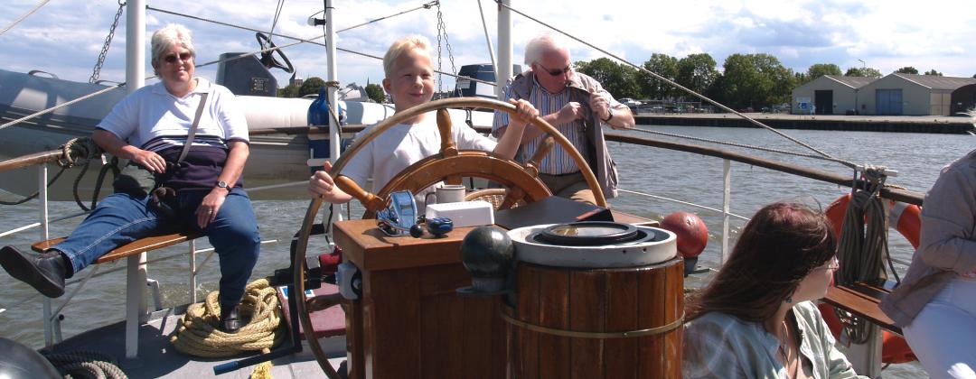 Zeilvaart in Kampen